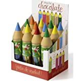 Giant Chocolate Pencils