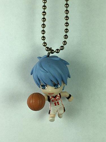 """Kuroko Tetsuya - Bandai Kuroko No Basket 4Q Swing Gashapon Keychain Figure ~1.5"""""""