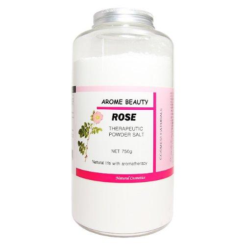 Jーアロマ パウダーソルト 塩マッサージで角質除去&アロマ効果でリラックス
