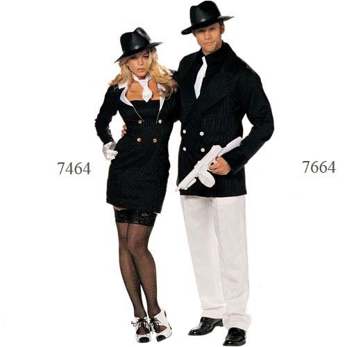 Gangster Man 3 Piece Costume Set from Silvermoon