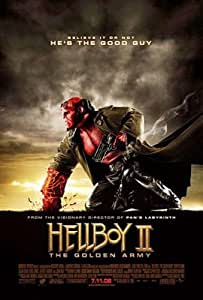 HELLBOY II: THE GOLDEN ARMY ORIGINAL MOVIE POSTER