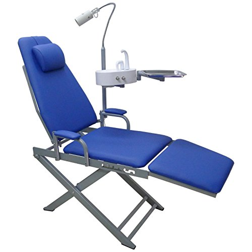 Super Dental Portable Chair Cold Light Cuspidor Tray Dentistry Equipment Mobile Unit (Dental Unit Chair compare prices)