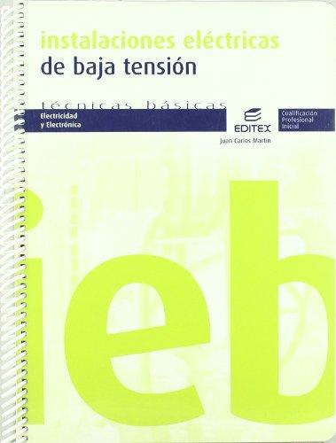INSTALACIONES ELECTRICAS EN BAJA TENSION