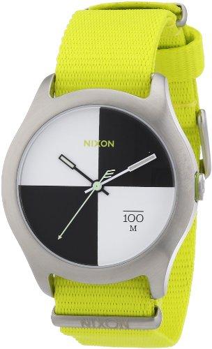 Nixon A3441262-00 - Orologio da polso unisex, nylon, colore: giallo