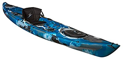 07.6380.2019 Ocean Kayak Prowler Sit-On-Top Fishing Kayak, Blue Camo, 13' by Johnson Outdoors Watercraft