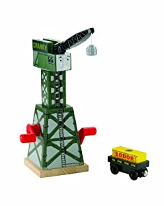 Thomas Wooden Railway - Cranky The Crane