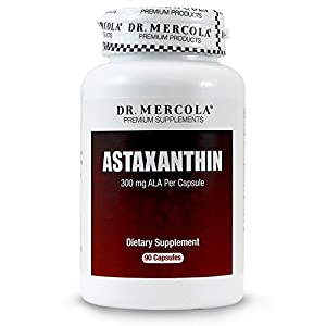 Mercola, Astaxanthin Antioxidant with 300 mg ALA per capsule