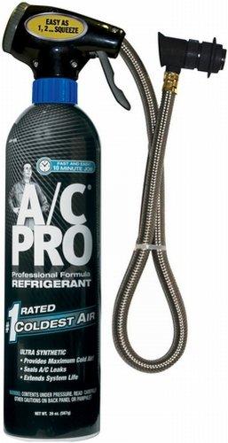 A/C PRO (ACP-100CA) A/C Pro Professional Formula All-in-One Solution Refrigerant - 20 oz.