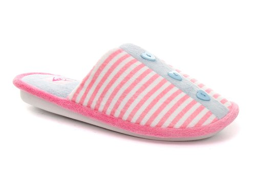 Cheap Dunlop Stripe Pink Womens Slipper Mules ALL SIZES (B005Z1OPCI)