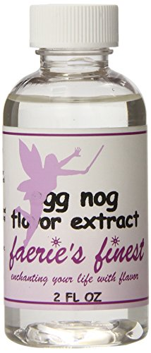 Faeries Finest Flavor Extract, Eggnog, 2.14 Ounce