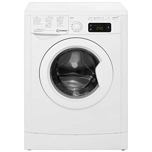 Indesit Eco Time Washing Machine - Freestanding - IWE71682 - White