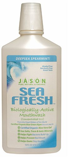Sea Fresh, Biologically-Active Mouthwash, Deep Sea Spearmint, 16 fl oz (473 ml)