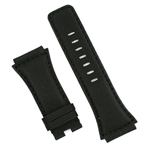 Black Kevlar Style Watchband for Bell & Ross Dive Watch BR02
