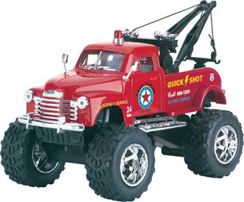 Big Wheel Tow Truck (Colors & Styles May Vary) - 1