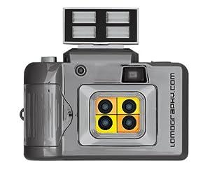 Lomography Action Sampler Flash 4-lens 35mm Film Camera