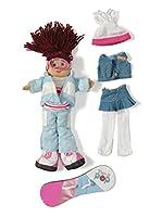 My Doll Muñeca Dusha Snowboard TA054 Multicolor