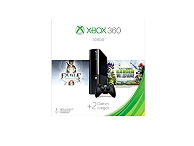 Xbox 360 Spring Bundle with Fable Anniversary and Plants vs Zombies: Garden Warfare