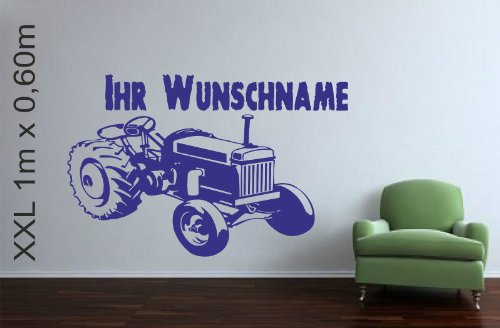 wall-sticker-tractor-with-choice-of-name-or-phrase-royal-1m-x-06m