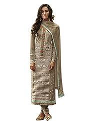 Nirali Women's Georgette Salwar Kameez Semistitched Dress Material - Free Size