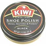 Kiwi Wax Shoe Polish, Giant Size 2.5 oz, Black