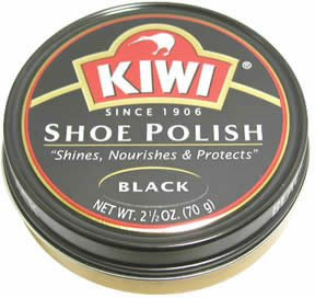 Kiwi Wax Shoe Polish, Giant Size 2.5 oz, Black