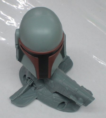 Picture of Burger King Star Wars Boba Fett Bobble Head Kids Meal Toy Loose (Bobble Head Figures)