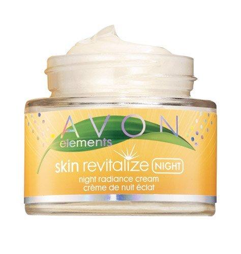 Avon Elements Skin Revitalize Night Radiance Cream