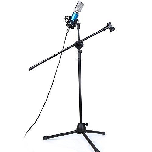 Mikrofon Ständer, Crenova Mikrofon Bodenstativ - 2