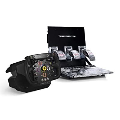 Thrustmaster Ferrari F1 Wheel Integral T500 RS Base and Pedals Volantes y pedales para videojuegos baratos Steering wheels and pedals video games cheap