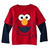 Sesame Street Elmo Long-Sleeve Red Shirt - Toddler Sizes