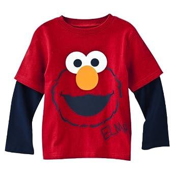 Amazon Sesame Street Elmo Red T Shirt 4T Clothing