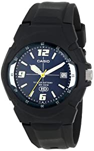 CASIO Men's MW600F-2AV 10-Year Battery Sport Watch