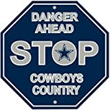 Dallas Cowboys Stop Sign