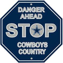 NFL Dallas Cowboys Stop Sign