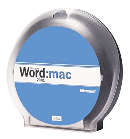 Microsoft Word for Macintosh 2001 [Old Version]