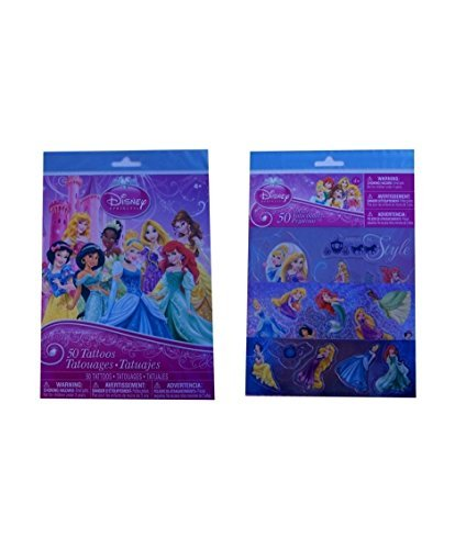 Disney Princess Stickers & Temporary Tattoos Pack - 1