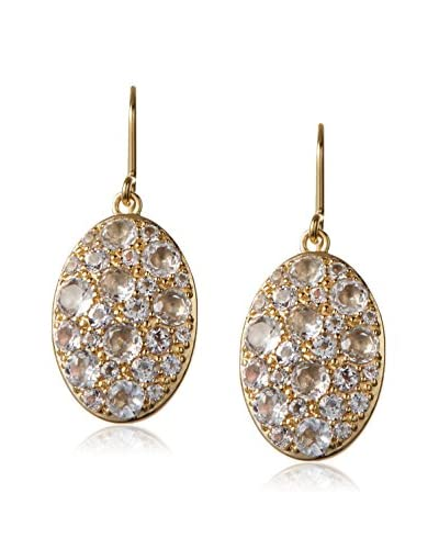 Elizabeth and James White Topaz Constance Earring