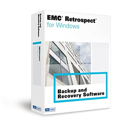 Emc Retrospect 7.5 Disk To Disk Windows