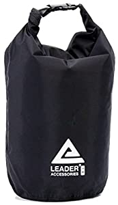 New Waterproof and Compression Lightweight Dry Sack (Black, 4L)