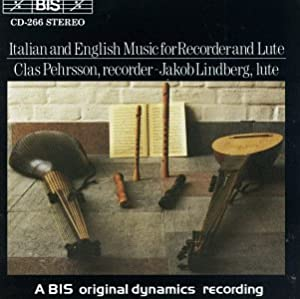 Italian & English Music for Recorder and Lute