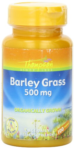 Thompson Barley Grass Tablets, 500 Mg, 100 Count
