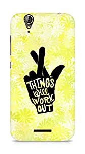 AMEZ things will work out Back Cover For Acer Z630S