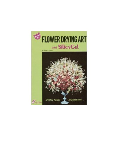 Cheap Flower Drying Crystals Flower Drying with Silica Gel Book (DRYFLOBOOK)