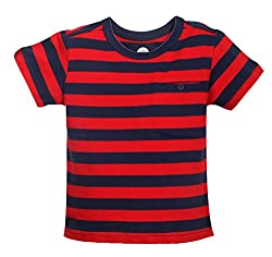 Vitamins Baby Boys' T-Shirt (08Tb-424-1-Red_Red_1 - 2 Years)