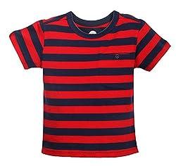 Vitamins Boys' T-Shirt (08Tb-424-4-Red_Red_4 - 5 Years)