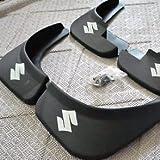 Black Auto parts 4PCS Mudguard Splash Guard Mud Flap Fit For 2006 2007 2008 2009 2010 2011 2012 SUZUKI SX4 SEDAN