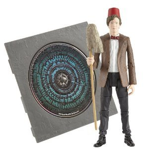 Doctor Who Eleventh Doctor Matt Smith Pandorica Action Figure and CD