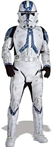 Star Wars Child's Deluxe Clone Trooper Costume, Small