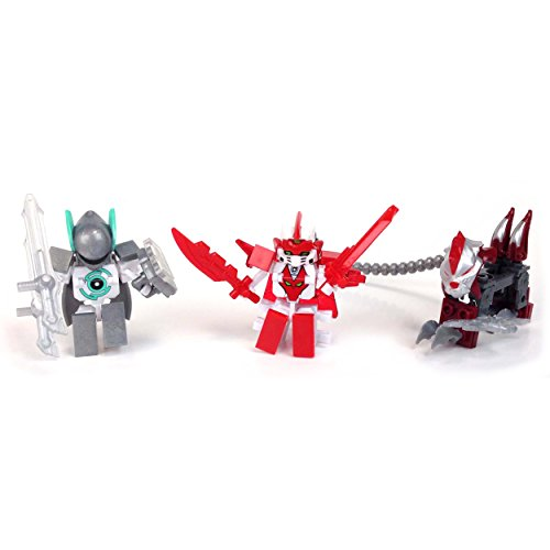 Ionix Tenkai Knights Action Pack 10510 (Balthaz/Guardian Notus/Slyger)