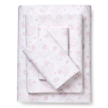 Simply Shabby Chic® Sheet Set Pink Paisley (Twin) (Shabby Chic Sheets compare prices)
